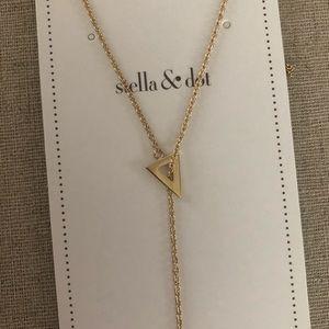 Stella & Dot Jewelry - 🔺 Stella and Dot Triangle Lariat 🔻